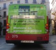 Bus in edriving campaign