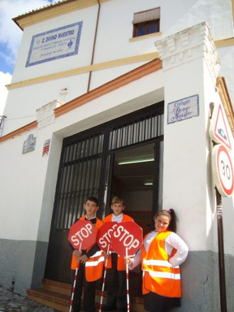Traffic School Regulators at Divino Maestro´s School