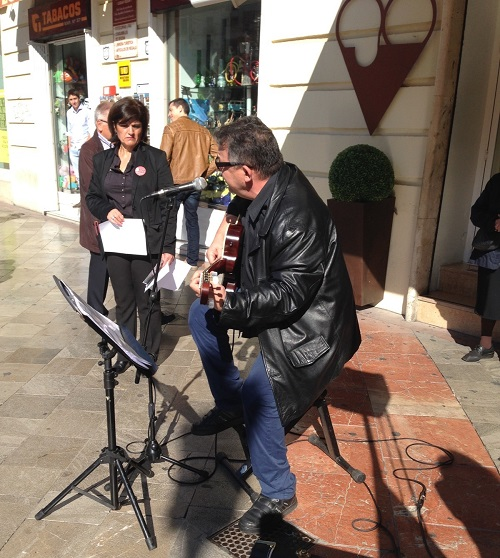 Guitar Granada Worldwide Commemoration day of Victims in Traffic Accidents 2015