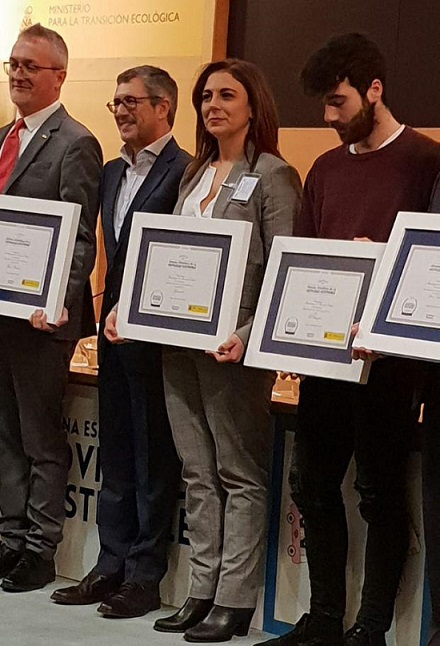 Award Spanish Week of Mobility 2018